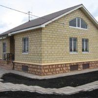 Загородный дом из теплоблоков