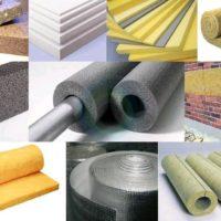 Материалы для утепления домов