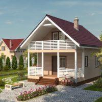 Загородный дом оптимальных размеров