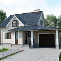 Преимущества дома совмещенного с гаражом